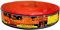 Red Celebration Crackers